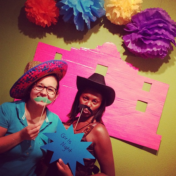 And one last photo booth shot! #craftparty #alamocrafters