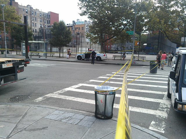 Victim was reportedly riding a scooter across the crosswalk