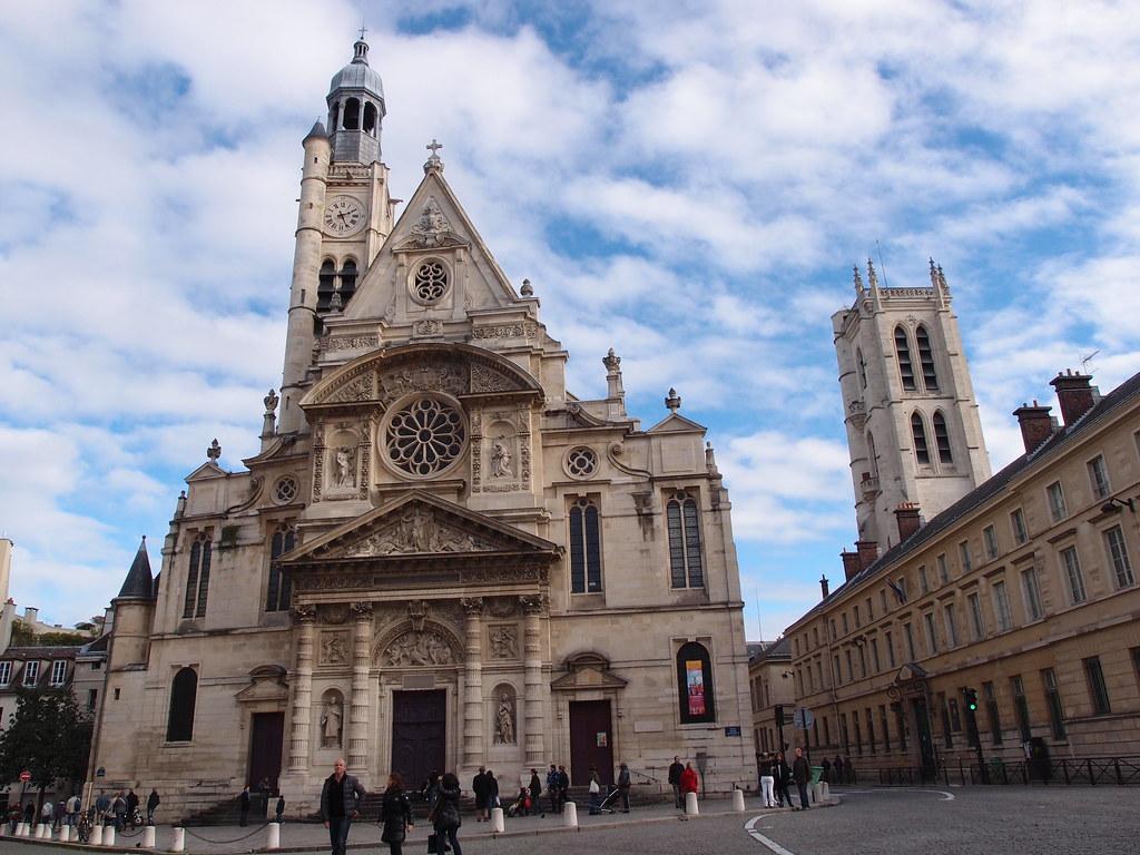 Fachada de Saint-Etienne du Mont