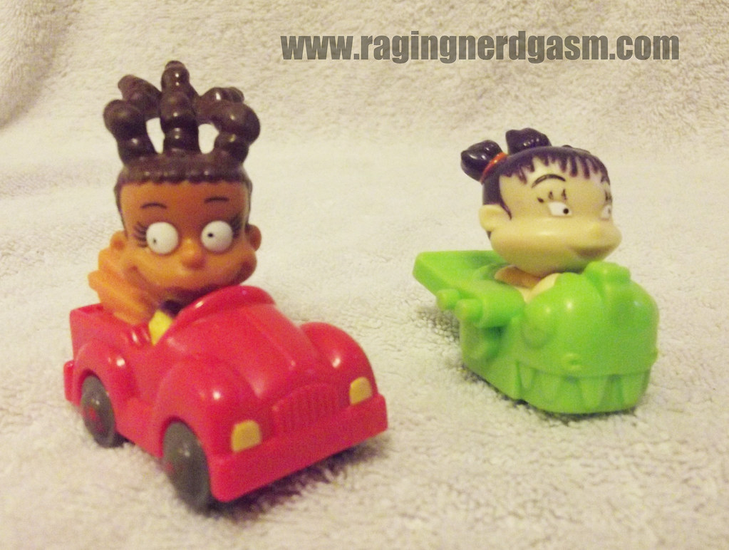 Rugrats in Paris Kids meal toys