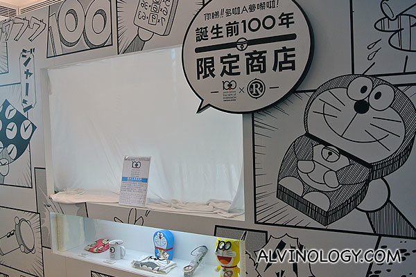 There was actually a booth selling limited edition Doraemon merchandises, but they were all snapped up within the first few days!