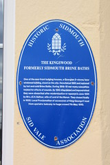 Photo of The Kingswood blue plaque