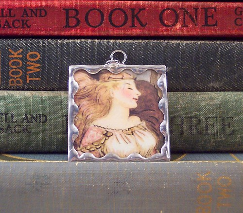 sleeping beauty pendant
