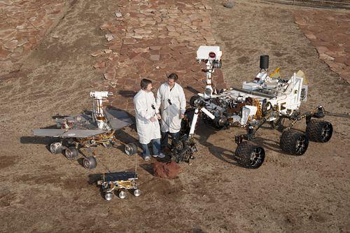 Mars Pathfinder Spirit / Opportunity Curiosity