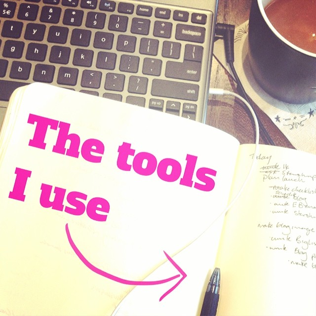 Writing about the tools I use in my business for tomorrow's post. What do you use?