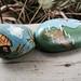 Decorated Rocks by Fiddlekate (Katie Waller)
