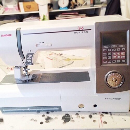 Is there anything more exciting than a new sewing machine???