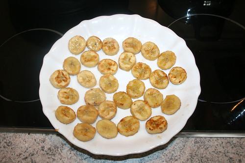 29 - Bananescheiben bei Seite stellen / Put banana slices aside