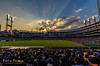 Sunset - Comerica Park