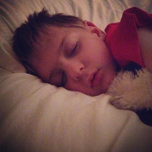 This sweet thing had a #seizure tonight. #myheartisbroken #ilovehim and it isn't fair