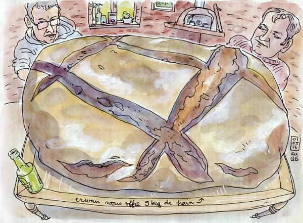9kg de pain