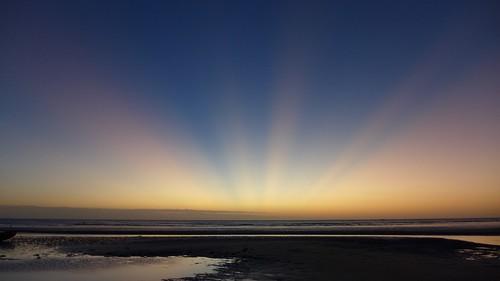 Post-tramonto a Jeri