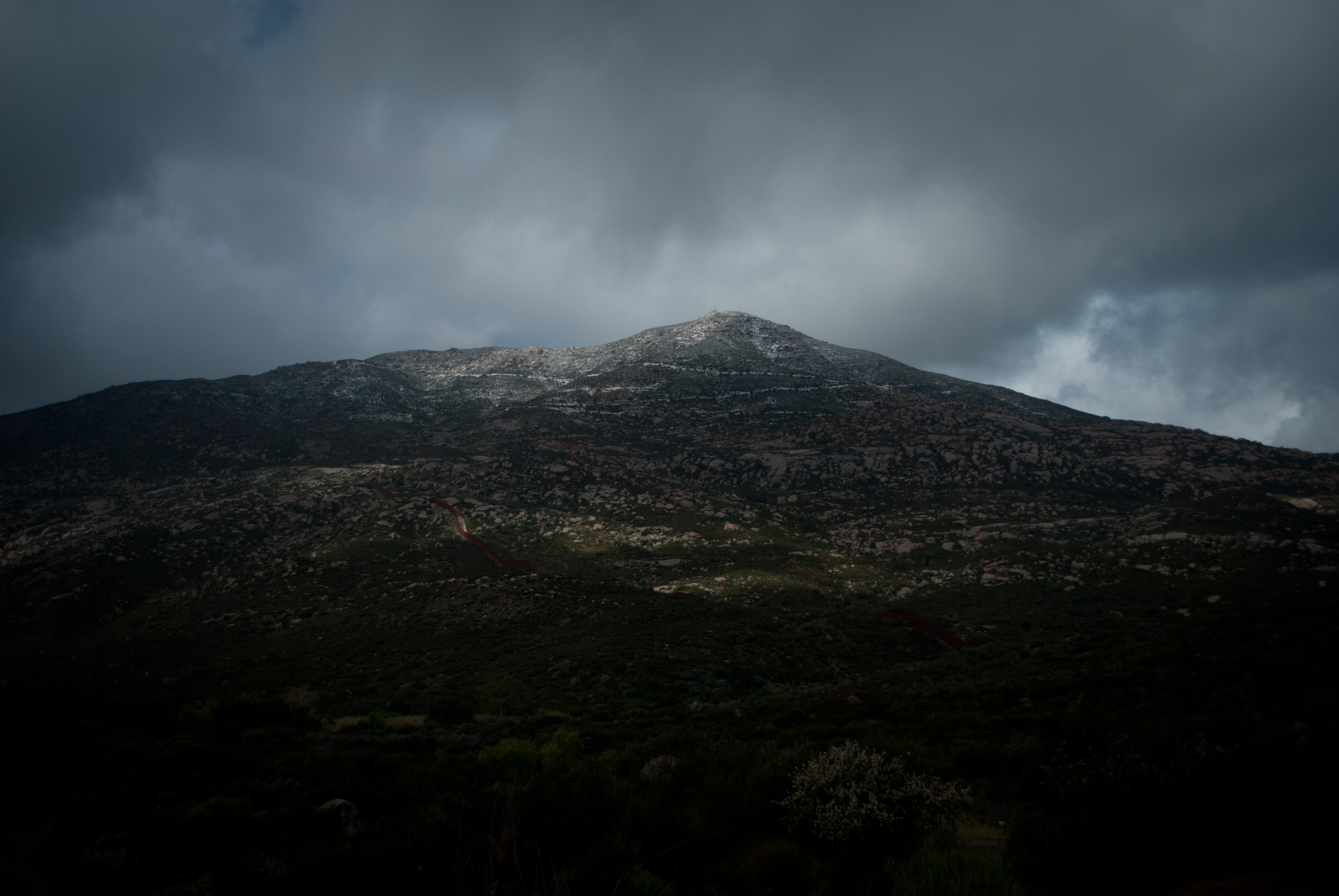 Cerro Cuchumá en Tecate.