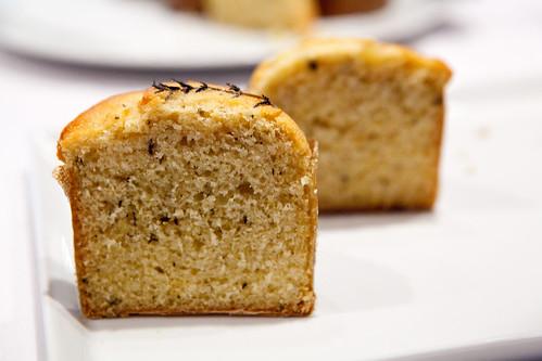Halved Lemon Thyme muffin