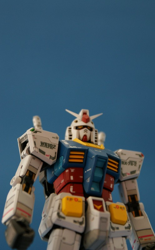 Real Grade 1/144 - RX-78-2 GUNDAM - WiP 8 - Final assemblie-