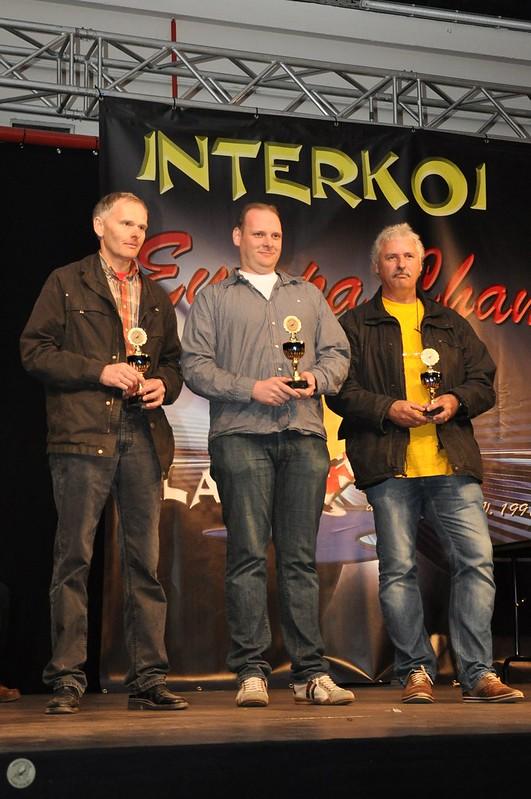De kwekers Matthias Schmitt, Jeroen Van Keulen en Jos Aben
