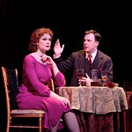 Kate Baldwin and Brooks Ashmanskas in the Huntington Theatre Company's revival of <i>She Loves Me</i> playing at the Boston University Theatre. Part of the 2007-2008 season. Photo: T. Charles Erickson.