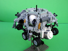 MSL Powered Descent Vehicle 09