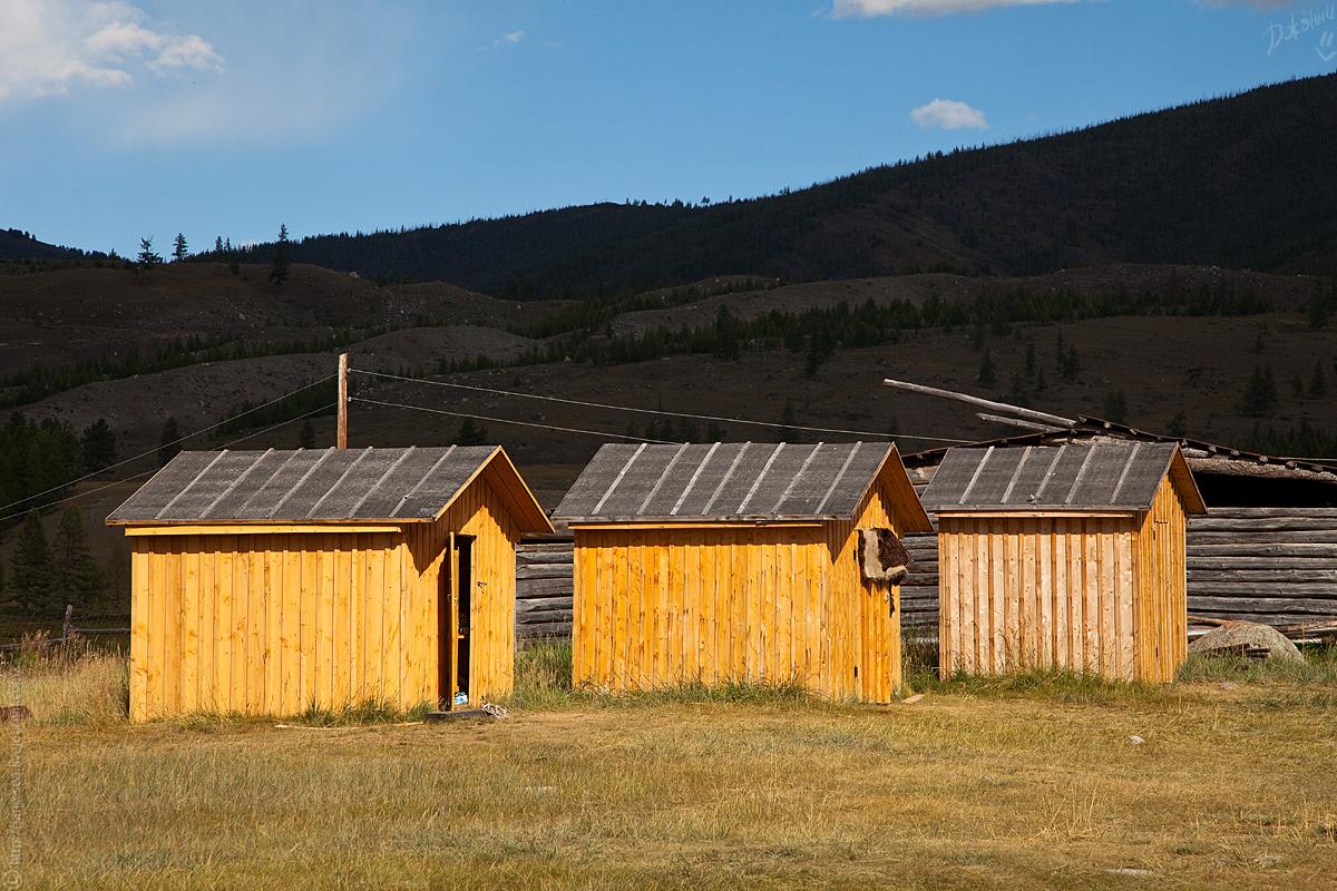Летние домики у Альберта в Джазаторе