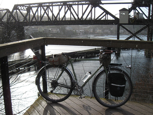 Seattle Rides 1: Winter 2012 - Atlantis in the shower