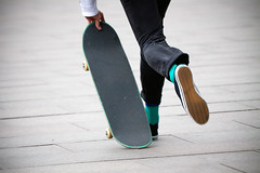 The green skatersocks