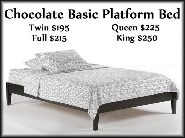 ChocolateBasicBed