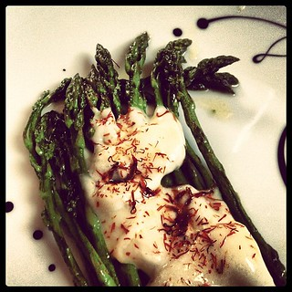 Lahka vecerjica. #food #asparagus #dinner