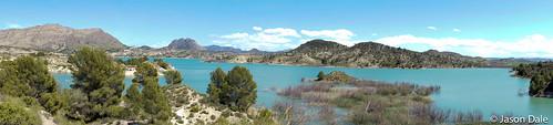 Calasparra Reservoir Panoramic