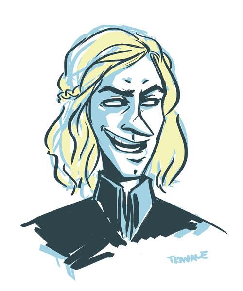 Viserys Targaryen sketch