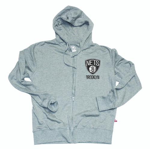 Brooklyn Nets Grey Hoodie