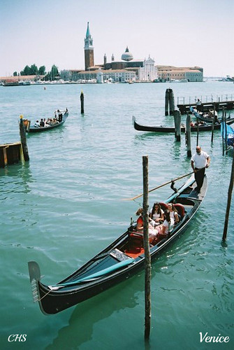 Gondola, Venice 35mm (2004) by Stocker Images