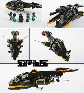 """SIRIUS"" Blacktron leader- R'rah-œll - starfighter"