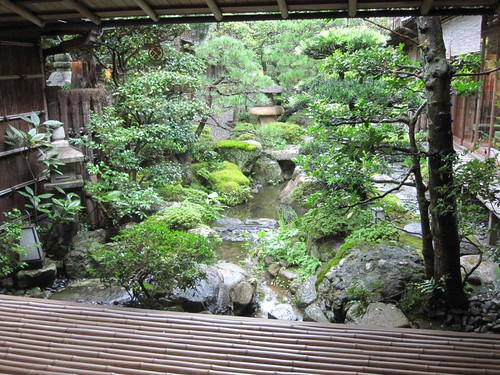 Japanese Garden at the Ryokan