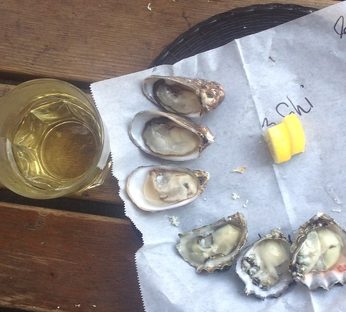 Oysters and Piquepoul