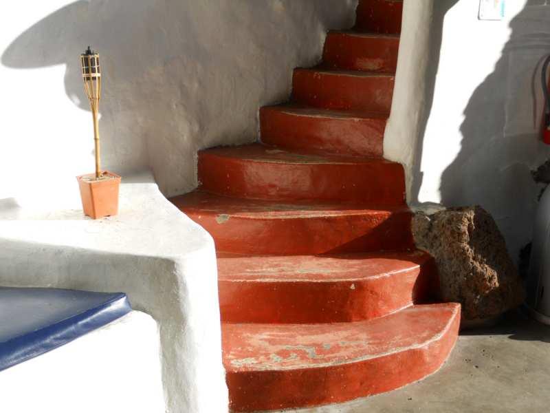Escalera en jardines Omar Sharif Lanzarote 20