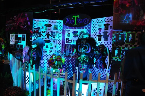 Mad T Party display