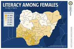 Literacy among females in Nigeria