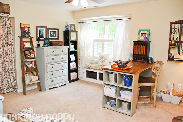 Pottery Barn knockoff Home Office Decorating Ideas (1 of 73)