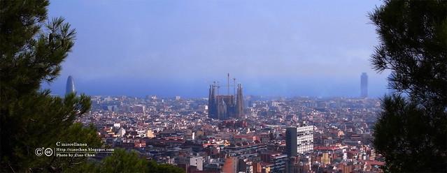 Hola Barcelona~巴塞隆納。往「桂爾公園 Parc Güell」郊遊去 (上) R1043008