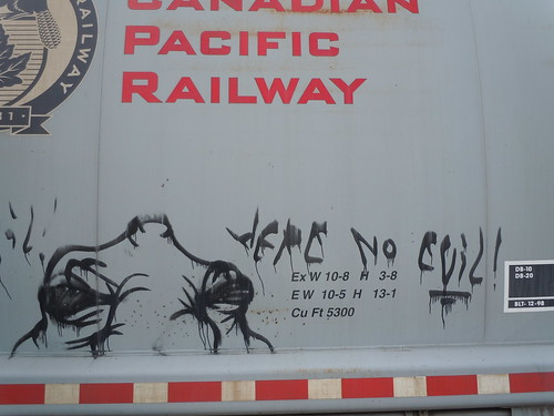 04/08/12 Rail Car Graffiti, Buffalo, MN