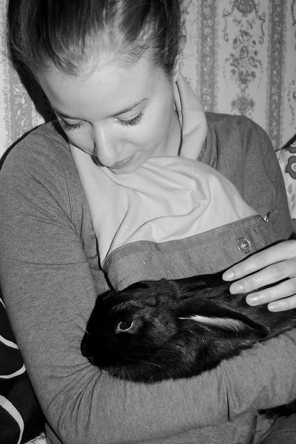 bunny and me