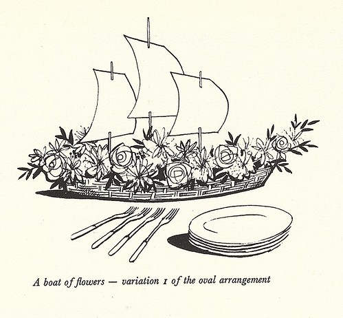 Viking boat arrangement
