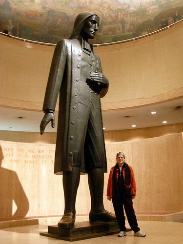 William Penn Sculpture by Janet DeCoux at the State Museum of Pennsylvania