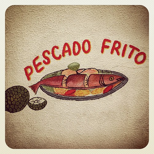 Pescado frito, by juliana restrepo