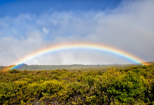Rainbow on Mount Haleakala