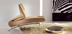 Berlin Chaise Lounge W/Adjustable Back By Bonaldo