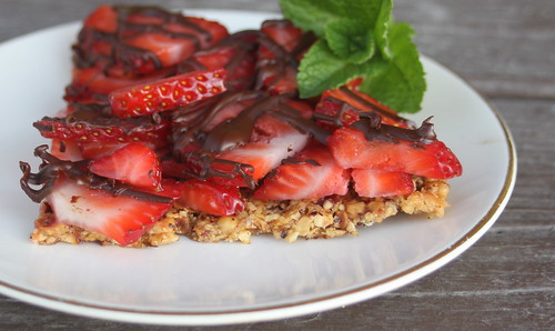 Strawberry Hazelnut Bars
