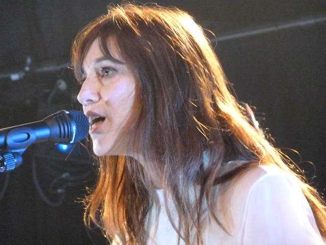 Charlotte Gainsbourg performing at Paradiso, Amsterdam