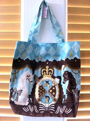 Angelic Pretty - Chess Chocolate tote bag