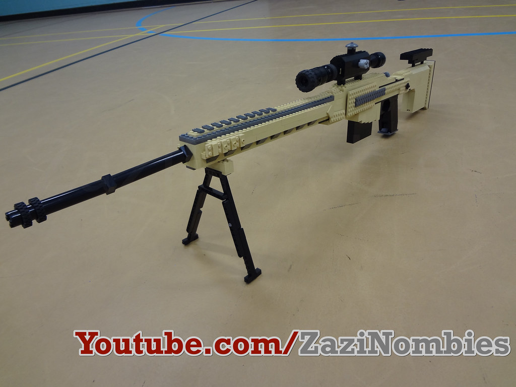 how to build aworking lego sniper